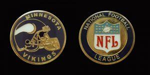 NFL_Minnesota_Vikings_Challenge_Coin