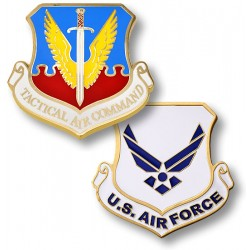 Tactical Air Command Challenge Coin
