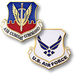 Air Combat Command Challenge Coin