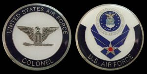 Air Force Colonel Challenge Coin