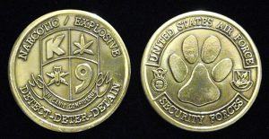 Air Force Security Forces Challenge Coin