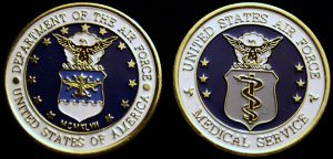 Air Force Medical Services Challenge Coin