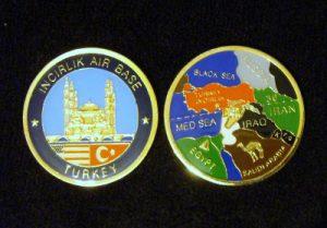 Incirlik Air Base, Turkey Challenge Coin