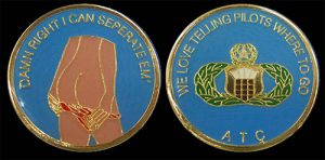 Air Traffic Control Challenge Coin
