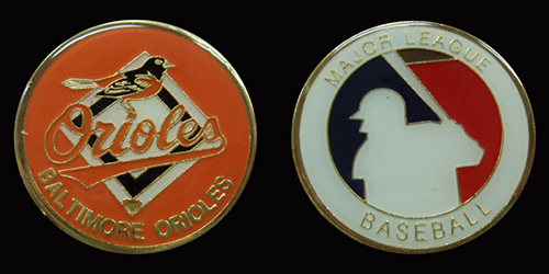 Baltimore Orioles MLB Challenge Coin