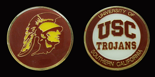 University of Southern California Trojans Challenge Coin