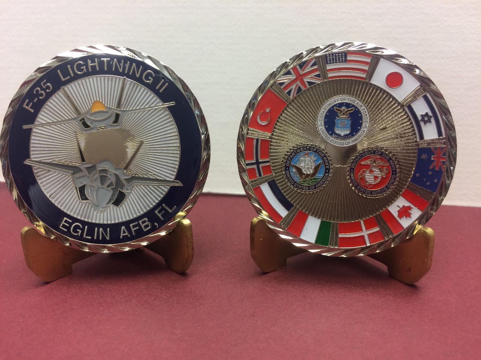 Eglin AFB F-35 Challenge Coin