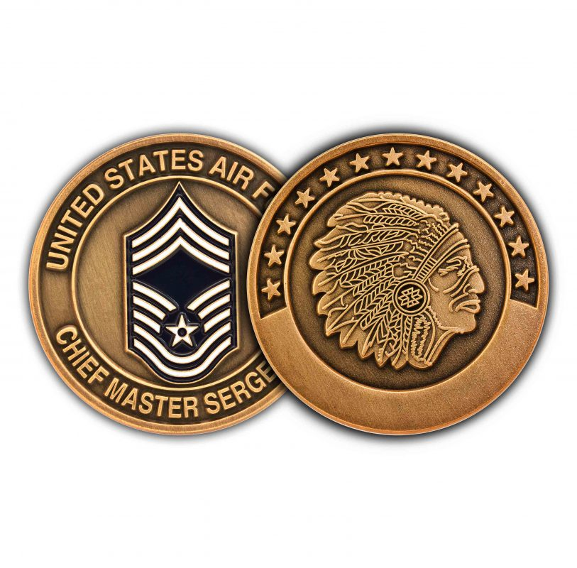 Chief Coins (Engravable)