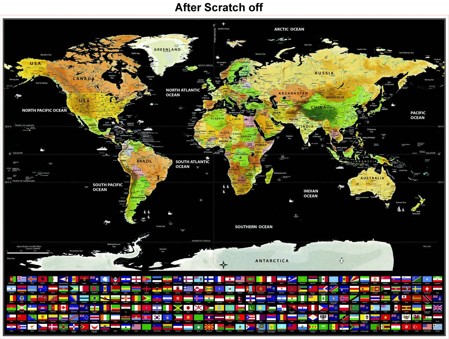 Scratch off world map cartouche and coin shop 2450 gumiabroncs Gallery