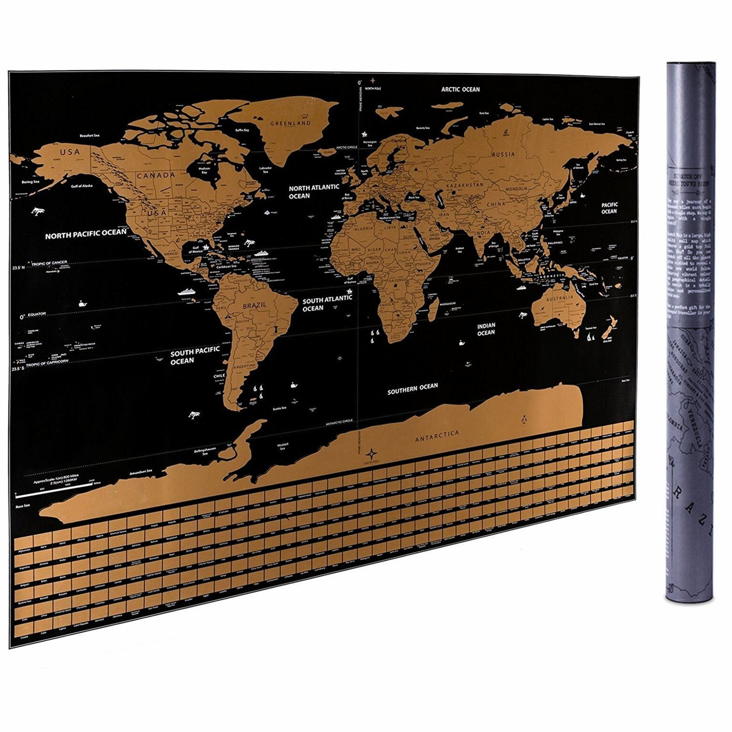 Scratch off world map cartouche and coin shop gumiabroncs Gallery
